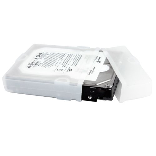 Startech 3.5 Inch Silicon Hard Drive Protector Sleeve With Connector Cap lowest price