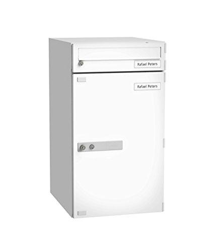 BURG-WÄCHTER, Paketbox mit Benachrichtigungskarte, Paketbox-Sharing-Fähig, Stahl, eBoxx EA 634 SW