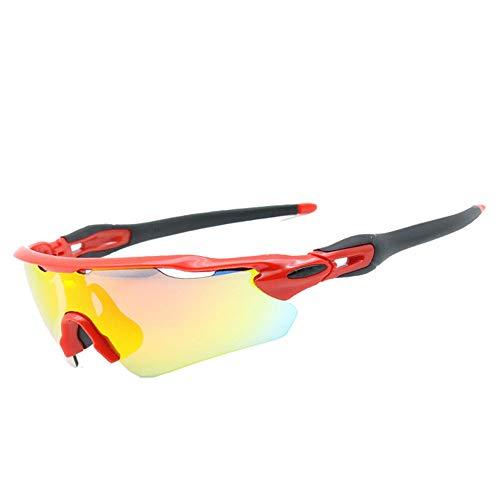 17098a1b00 Polarizadas gafas de sol deportivas protege indestructible deportes gafas  deportivas gafas adecuadas para hombres y mujeres