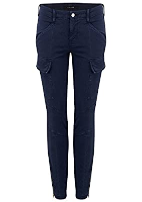J Brand - Houlihan Cargo Jeans - Distressed Black Iris