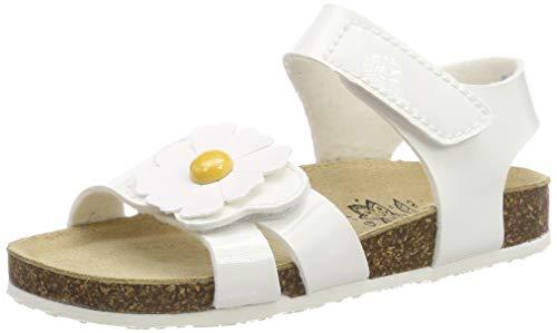 Primigi pbk 34269, sandali con cinturino alla caviglia bambina, (bianco 3426900), 31 eu