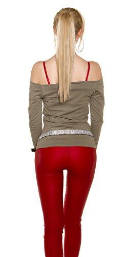 In-Stylefashion - Sweat-shirt - Femme marron marron clair taille unique Marron Clair