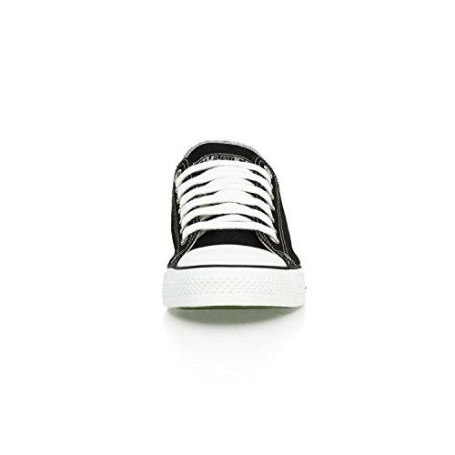 Ethletic Sneaker vegan LoCut – Farbe jet black / white aus Bio-Baumwolle – low Sneaker - 6