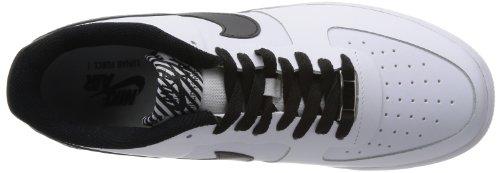 NIKE Lunar Force 1 Ns Prm, Baskets mode homme Bianco (Weiß (White/Black)