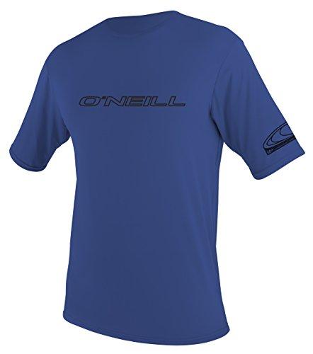 O' Neill Uomo Rash Guard di protezione solare SPF50+ T Shirt/Top, unisex, none, S
