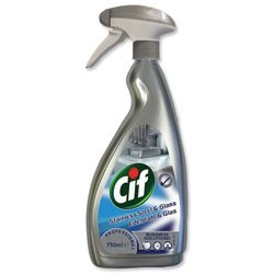 brand-new-cif-professional-stainless-steel-and-glass-cleaner-750ml-ref-7517938
