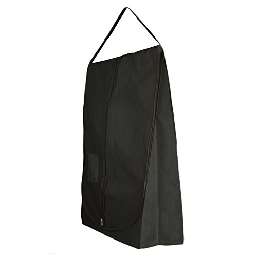 Hangerworld - Funda Impermeable Y Transpirable Para Vestidos De Novia, Color Negro, 183 cm