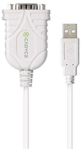 Cadyce CA-US9 USB to Serial Converter (White)