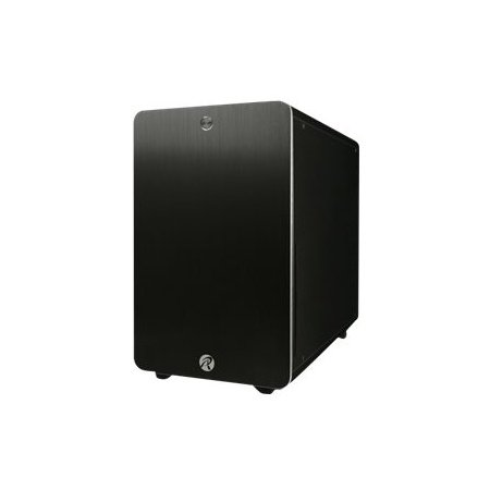 RAIJINTEK Styx Classic–Box von Computer (PC, Aluminium, 1x 120mm, unten, Micro-ATX, Mini-ITX, schwarz)
