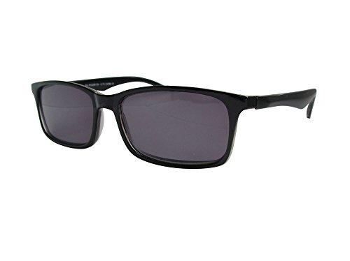 Lese-Sonnenbrille mit UV-Schutz, schwarz