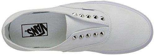 Vans Authentic Gore Scarpe da Ginnastica Basse, Unisex Adulto Bianco (studs/true White)