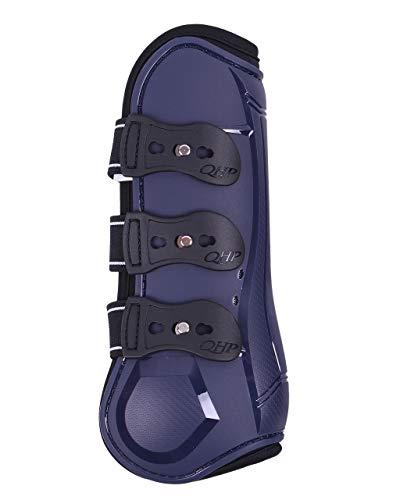 ARBO-INOX - Gamaschen - Airflow-Neoprenfutter - Schnellverschluß - anatomisch geformt (Pony, Blau)