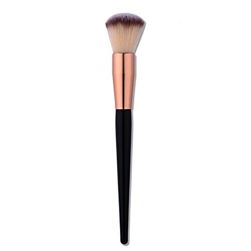 Fashion Base® 1 pièces NEUF arrivée Rose doré Tube Poignée Pro Maquillage Beauté Cosmétique visage Poudre blush Brosse Fond de teint brosses Outil