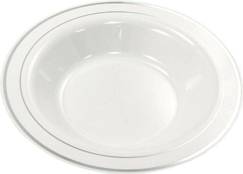 Outlet Thali Lot de 20 bols en plastique blanc 9 \\