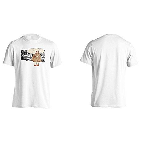 Fashion Girl Donne Divertenti Città D'Arte D'Epoca Uomo T-shirt yy17m White