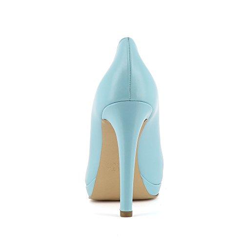 Evita Shoes Cristina, Scarpe col tacco donna Hellblau