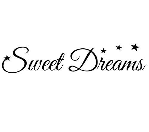 Sweet Dreams starsFor Baby Kinderzimmer Wandtattoo PVC Wandaufkleber 100 CM * 20,6 CM