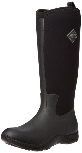 Muck Boots Arctic Adventure, Damen Stiefel, Schwarz - Black (Black), 43 EU (9 UK) (Blk-training-schuhe)