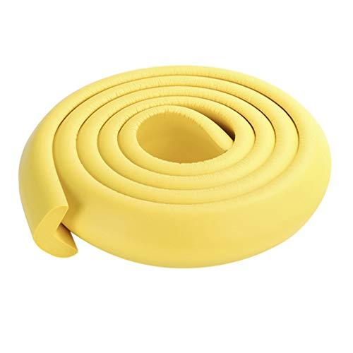 STOBOK Babysicherheitsstreifen Proofing Edge Corner Guards Kindermöbel Stoßstange Wickeltisch Protektoren Stoßstange gelb 1 Rolle