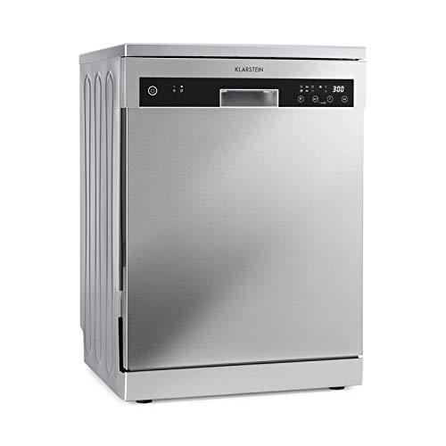 Klarstein Reinfjord • Lave-vaisselle • Classe énergétique A+++ • 1850W • 12 Couverts •6 programmes • Silencieux• Pose libre ou encastrable• devant inox