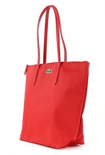 Lacoste - Nf1344po, Borsa shopper Donna Salsa (Rot)