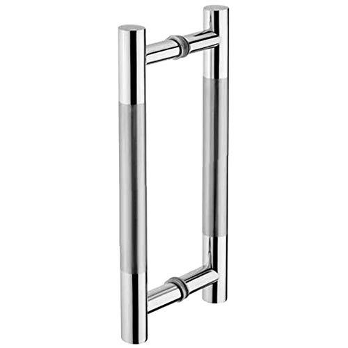 Tirador de puerta corrediza Tiberham, de acero inoxidable resistente,