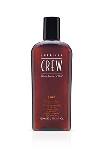 Men Classic 3 IN 1 Shampoo Conditioner Body Wash 450ml/15.2oz