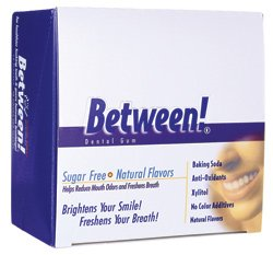 Eco-Dent Between! Dental Gum Sugar Free Cool Mint 12 Pack(S)