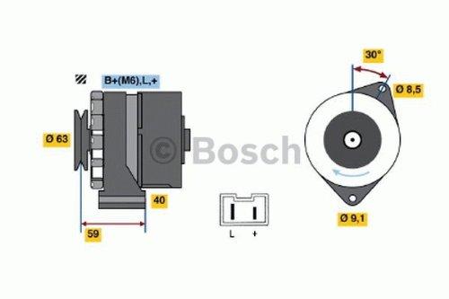 Preisvergleich Produktbild Bosch Generator,  0986032261 (inkl. 25,  – . EUR Tank)