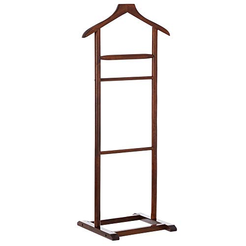 Perchero Suelo Moderno marrón Madera Dormitorio 107