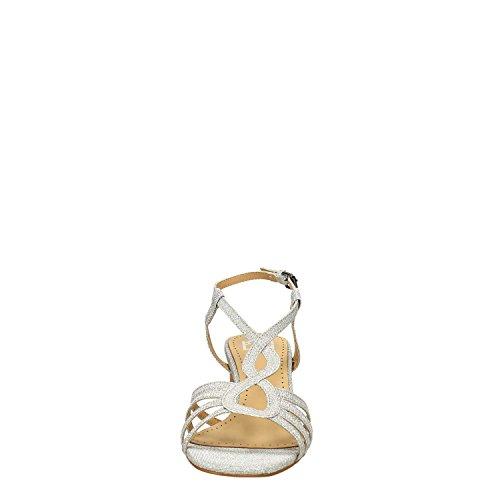 Bibi Lou 927Z96GT Pumps Sandale Damen Silber