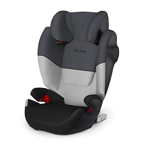 Cybex Silver Kinder-Autositz Solution M-Fix, Für Autos mit und ohne ISOFIX, Gruppe 2/3 (15-36 kg), Ab ca. 3 bis ca. 12 Jahre, Gray Rabbit