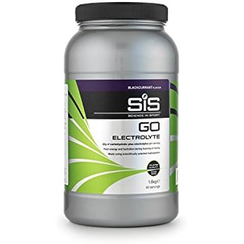Science in Sport GO Electrolyte Bevanda Sportiva, Gusto Ribes Nero, 1,6 Kg