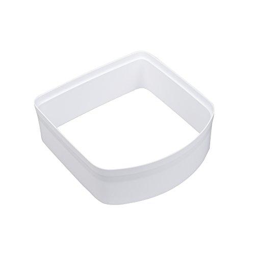 PetSafe Tunnelverlängerung für Mikrochip Katzenklappe, weiß, 5 cm Verlängerung, wetterfest