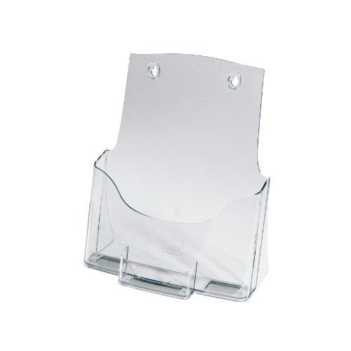 Sigel LH111. Formato: A4 (210x297 mm), Material: Acrílico, Color del producto: Transparente. Ancho: 240 mm, Profundidad: 115 mm, Altura: 290 mm Peso y dimensiones -Ancho: 240 mm -Profundidad: 115 mm -Altura: 290 mm -Grosor: 2 mm  Características -For...