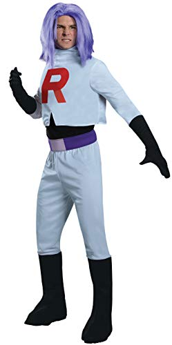 Pokemon James Team Rocket Costume Adult One Size Fits - Das A Team Kostüm
