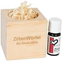 Zirben-/Arveduftwürfel 'Fresh Cube' inklusive Zirbenöl by ZirbenKugel preisvergleich bei billige-tabletten.eu