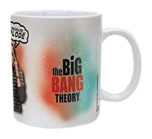 The Big Bang Theory Explode Ceramic Mug