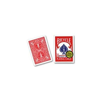 Bicycle Playing Cards, Gold Standard, Poker Size (Red Back)