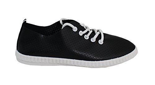 Con Scarpe, Signore Sneaker Nere