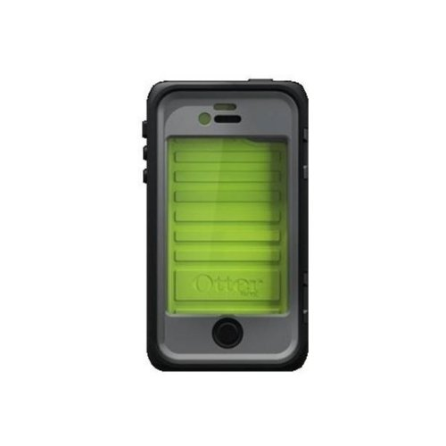 OtterBox Armor Series Waterproof Case for iPhone 4/4S - Retail Packaging - Neon (Discontinued by Manufacturer) (4 Otterbox 4s Iphone)