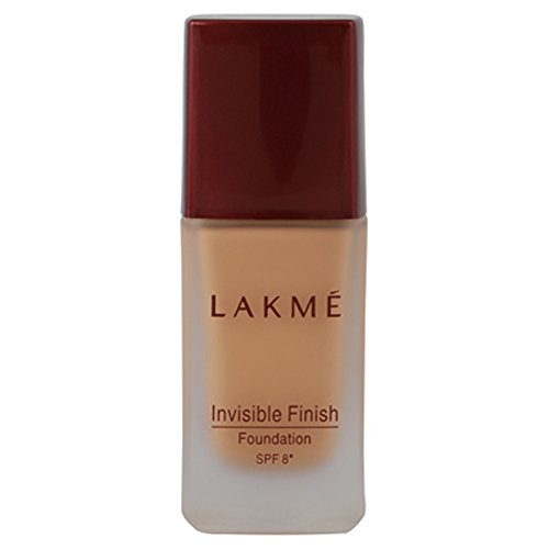 Lakme Invisible Finish SPF 8 Foundation, Shade 02, 25ml