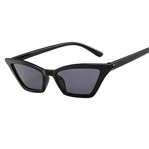 POIUDE Pilotenbrille Damen Verspiegelt Sonnenbrille Polarisiert Vintage Rahmen Spiegel...