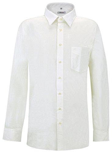 Arrivee -  camicia classiche  - basic - classico  - uomo bianco xxxxxx-large