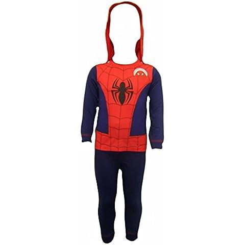 Spiderman - Pijama dos piezas - Manga Larga - para niño