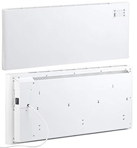 Sichler Haushaltsgeräte WiFi Konvektor: WLAN-Konvektor-Wand-Heizung, kompatibel zu Alexa & Google, 2.000 Watt (Elektro Heizkörper)