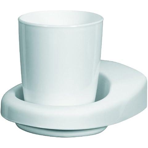 Bisk 50702 Laguna vaso  plástico con soporte
