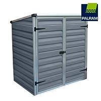 Palram Skylight Voyager Grey Shed Wheelie Bin Store Bike Shelter Ideal Garden Furniture Waterproof Storage