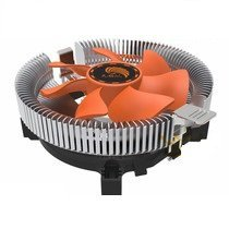 eErlik Cpu Cooling Fan For Socket LGA 775 Cooler (orange)  available at amazon for Rs.399