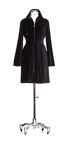 Möve 277280673_M_199 Homewear Nicki-Mantel, Größe M, schwarz